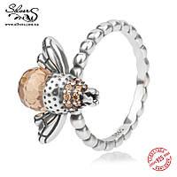 """Серебряное кольцо """"Пчела"""""""