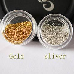 Бульонки стекло в банке Золото