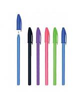 "Ручка шариковая, синяя, 0,6 мм, ""Econo"", 1Вересня, 410950"