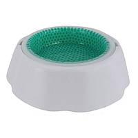 Охлаждающая миска для воды для домашних животных Frosty Bowl | Миска для собак с охлаждающим гелем, фото 1