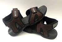 Босоножки, сандалии подростковые кожаные ECCO E0031