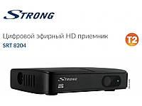 Эфирная Т2 приставка Strong SRT 8204