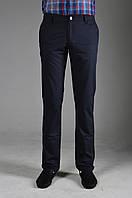 Мужские хлопковые брюки летние серые в мелкую полоску PRODIGY