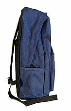 Универсальный рюкзак для школы и прогулок Vans синий, фото 2