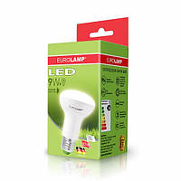 LED Лампа EUROLAMP ЕКО R63 9W E27 4000K