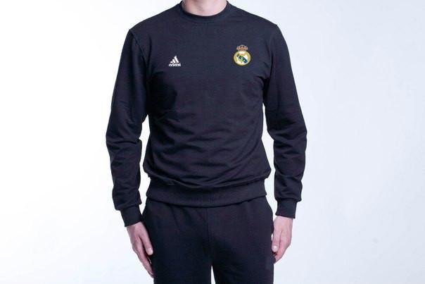 Спортивний костюм реал мадрид - чорний,адідас (Adidas)
