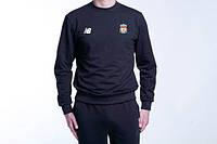 Черный спортивный костюм ливерпуль,New balanse(нью баланс)
