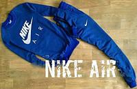Мужской спортивный костюм найк,Nike  - синий