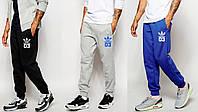 Штаны спортивные с резинкой внизу адидас,adidas