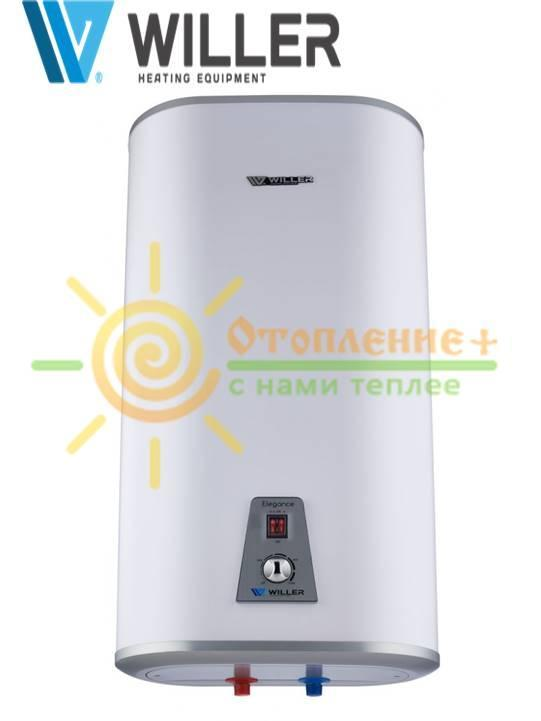 Электрический водонагреватель WILLER IVB80DR elegance DHE, плоский, сухие тены