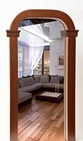 Межкомнатная арка  Арка Декор Престиж-Романтика 15 см, Проем 50 см