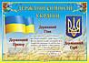 Плакат. Державні символи України