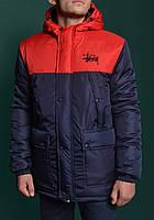 Куртка зимняя,парка мужская STUSSY Winter Parka Jacket