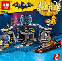 Конструктор Lepin серия Bathero 07052 Нападение на Бэтпещеру (Аналог THE LEGO BATMAN MOVIE 70909), фото 3