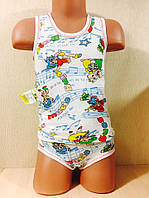 Комплект детский маечка + трусики (32 размер)