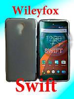 Чехол бампер силиконовый Wileyfox Swift