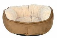 Trixie - Othello Лежак для собак, коричневый-беж, 50см