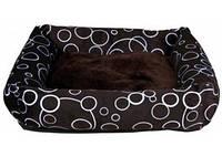 Trixie - Marino Лежак с бортиками для собак, коричневый, 46х46см