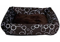 Trixie - Marino Лежак с бортиками для собак, коричневый, 55х55см