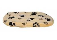 Trixie - Joey Лежак-подушка для собак, беж в лапах, 98х62см