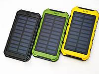 Противоударный внешний аккумулятор Power Bank Solar Stone Power 15000 mAh на солнечной батарее
