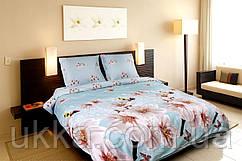 Евро постельное белье Колорит премиум от Теп Айвори