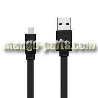 HOCO lightning кабель X5 Bamboo, black