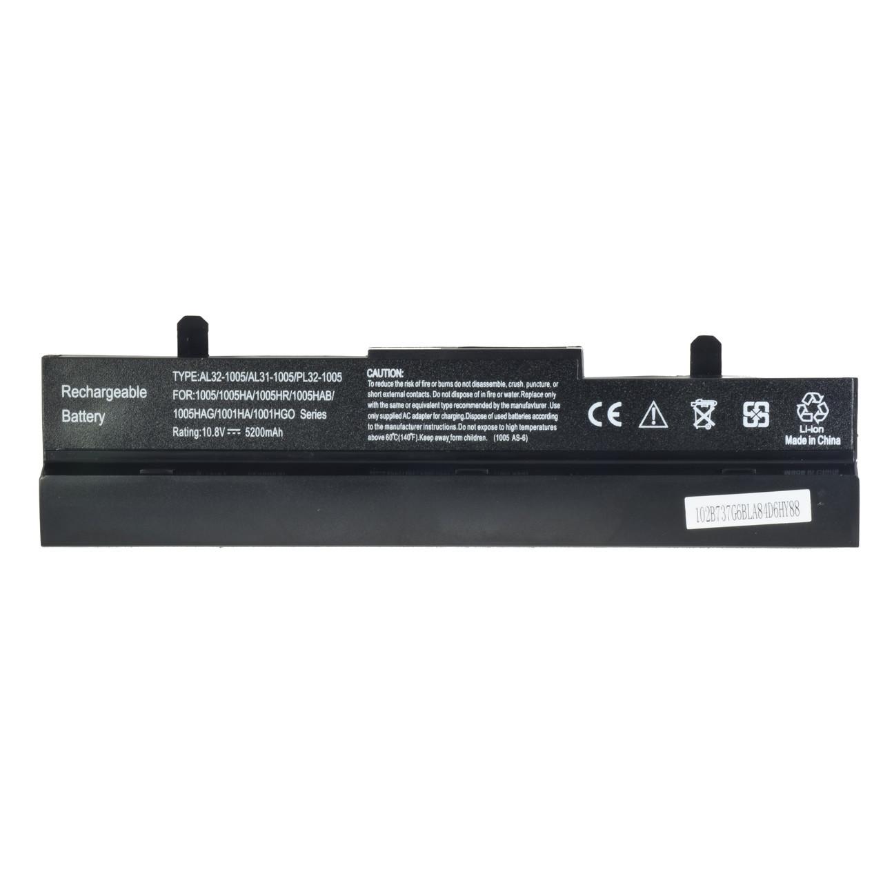 Батарея для ноутбука ASUS Eee PC  1005PXD 1101HA 1101HA-M 1101HA-MU1X 1101HA-MU1X-BK 1101HGO