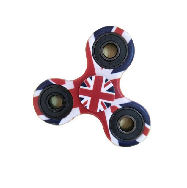 Спиннер Английский флаг Fidget Spinner (Hand spinner)