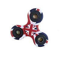Спиннер Английский флаг Fidget Spinner (Hand spinner), фото 1