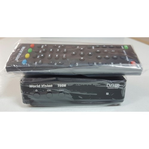 Цифровий ефірний ресивер World Vision T60M DVB-T2