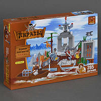 "AUSINI 27601 (12) ""Пираты"" 285 дет, в коробке"