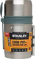 Пищевой термос 0.6 л с ложкой Stanley Mountain ST-10-01700-002