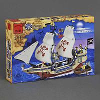 """BRICK 311 (18/2) """"Пираты"""" 487 дет, в коробке"""