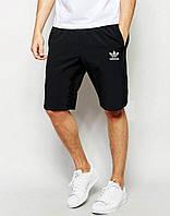 Черные спортивные шорты адидас