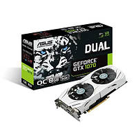 Видеокарта Asus GeForce GTX 1070 Dual 8GB GDDR5 (DUAL-GTX1070-O8G), фото 1