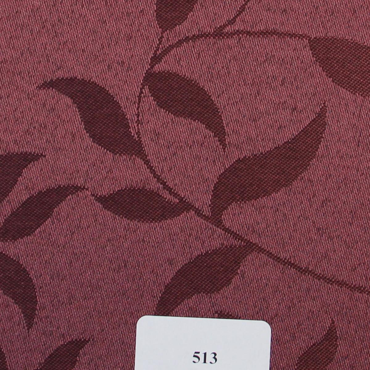 Рулонні штори Тканина Натура 513 Баклажановий