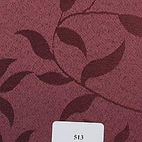 Рулонные шторы Одесса Ткань Натура Баклажановый 513