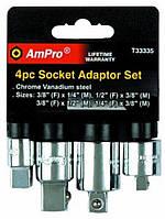 Набор переходников 4 предмета AmPro T33335