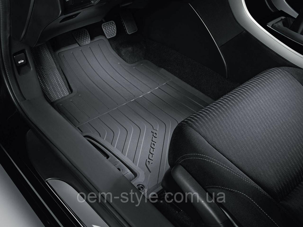 Резиновые коврики Honda Accord CR 2013-2016