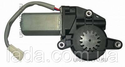 Мотор-редуктор стеклоподъемника Гранат Z=14, серый провод