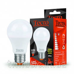 Светодиодная лампа TL-A60 6W E27 теплый