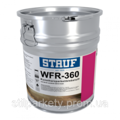 Stauf WFR-360: клей для паркета (Штауф, Германия).