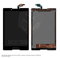 Оригинальный дисплей с сенсором для  Lenovo Tab 2 A8-50LC, черный, TV080WXM-NL0/80WXM7040BZT