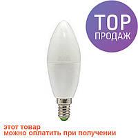 Светодиодная LED лампочка LB-737 C37 E14 6W 4000K/светодиодная лампочка