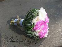 Букет невесты - дублер из хризантемы