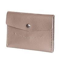 Маленький женский кошелек BlankNote 2.0 Крем-брюле