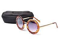 Солнцезащитные очки Aedoll 5905 001 круглые женские (без чехла)