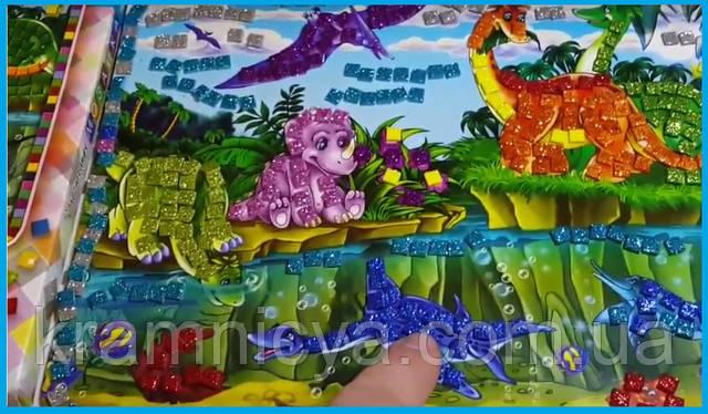 Набор для творчества бархатная картина-раскраска