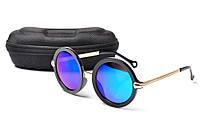 Солнцезащитные очки Aedoll 5901 002 круглые женские (без чехла)